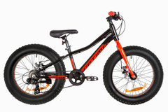 "фото Велосипед 20"" Optimabikes PALADIN 14G DD Al 2019 (черно-красный)"